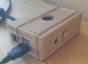 Raspberry Pi wood case